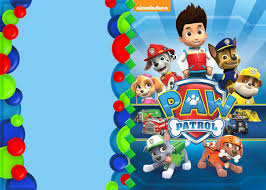 Paw Patrol Party Invitation Template En 2020 Invitaciones De Paw
