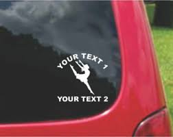 Dancer Car Decal Etsy
