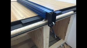 Table Saw Fence With Incremental Positioning Youtube