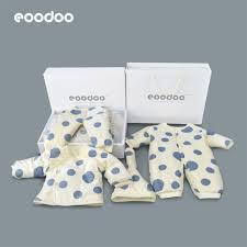 Eoodoo quần áo sơ sinh cho bé sơ sinh hộp quà mùa thu và mùa đông thiết lập  quà tặng trăng tròn cho mẹ | Lumtics