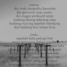warna dia rindu tempatk quotes writings by nurul aidha