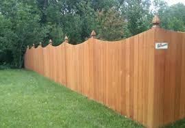 Wood Fences Custom Built Residential Fencing Atlas Fence