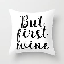 but first wine cheers sign bar wall