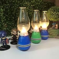 Đèn dầu LED điện tử cảm ứng bật tắt khi thổi – Đèn thờ trang trí không khói  chỉnh độ sáng tuỳ ý, sạc pin nhanh chóng (giao màu ngẫu nhiên)