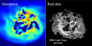 dark matter on the move