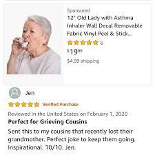 Inspirational Asthmatic Grandma Amazonwtf