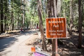 bridalveil falls in yosemite national