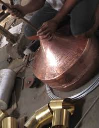 copper pendant light hammered rezzeqi