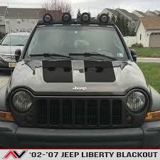 Jeep Liberty Kj Blackout 02 07 Alphavinyl