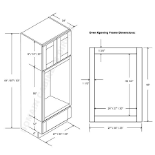 oven cabinet single wall oven