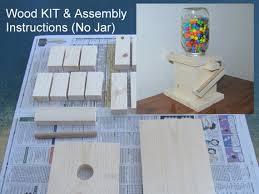 diy mason jar candy dispenser kit