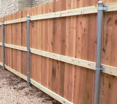 Wood Steel Post Adapters Northeast Fence Ironworks Inc