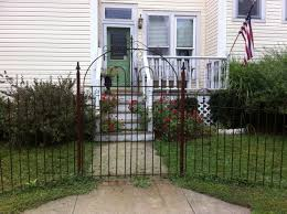 4 Wrought Iron Fencing Gates