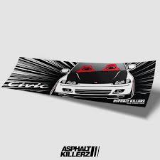 Asphalt Killers Premium Slap Sticker Decals 3m Vinyl 6 To Choose From Asphalt Killerz