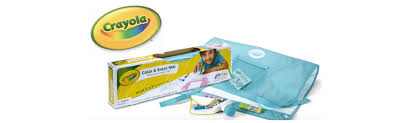 crayola color mat is for little kiddos