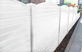 White Upvc Plastic Fence Panel Cocklestorm Fencing Ltd