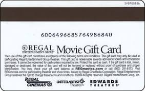 gift card congratulations regal