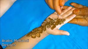 simple mehndi design for girl child