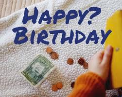 celebrate birthdays with no money