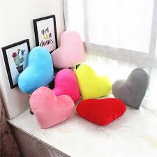 Mega Deal 7e6f1 Coussin Decoratif Cushion Heart Shaped Throw Pillow Kids Room Decor Valentines Gift Plush Cojines Decorativos Para Sofa 40x30cm Cicig Co