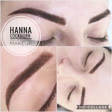 permanent makeup eyebrows powder brows