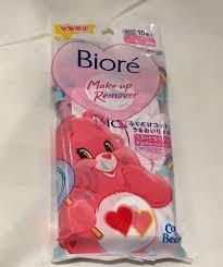 biore x carebear makeup remover health