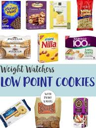 low point cookies weight watchers