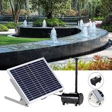 brushless water fountain pump