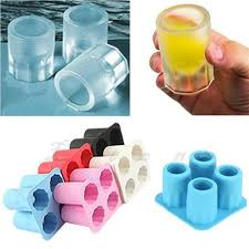 silicone ice mould with images shot