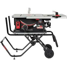 Sawstop Jss 120a60 Jobsite Pro Table Saw With Cart Fence