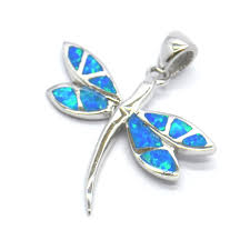 abalone wing dragonfly sterling silver