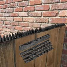 Wxw666poss Defender Spikes Animal Repellent Decoys Outdoor Pest Defender To Keep Off Pigeon Squirrel Woodpecker More Plastic Deterrent Anti Theft Climb Strips Shopee Philippines