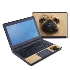 Pug Dell Chromebook 11 Skin Istyles