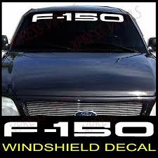 Ford F 150 Windshield Window Vinyl Decal Sticker Truck Ebay