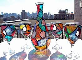 funky yet chic stained glass paint