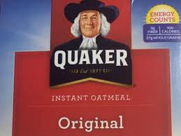 instant oatmeal nutrition facts