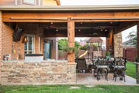covered patio outdoor kitchen katy