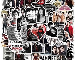 Vampire Stickers Etsy