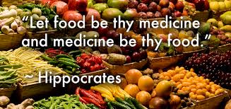 Let food be thy medicine and medicine be thy food — One World, One ...