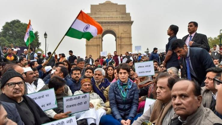"""Image result for Congress party Will Divide This Nation caa protest"""""""