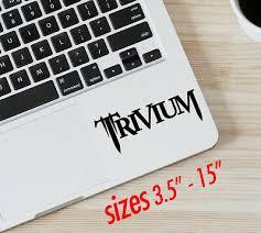 Trivium Decal Ebay