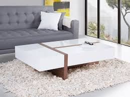 coffee table with three functional