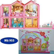 Mô Hình Nhà Búp Bê Cỡ Lớn Cho Các Bé Chơi Đồ Chơi Barbie - HANH ...