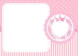 Corona Rosada Invitaciones Para Imprimir Gratis Oh My 15 Anos