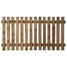 Maxwells Diy Treated Picket Fence