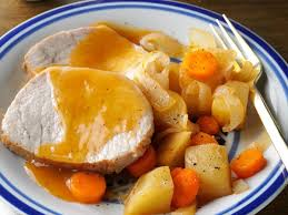 slow cooked pork roast dinner recipe