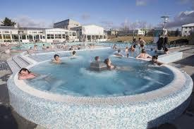 A spacious new hot tub taken into use in Vesturbæjarlaug swimming ...