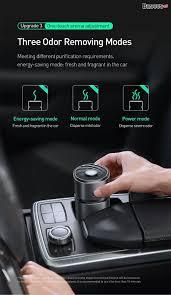 Máy khử mùi và lọc không khí cho xe hơi Baseus Breeze fan Air Fresher –  Baseus Việt Nam