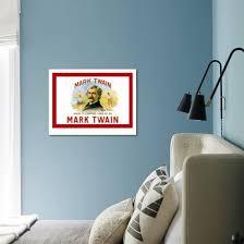 Mark Twain Cigars Art Print Art Com