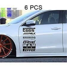 Car Sponsor Decal Sticker 12 Pack Racing Sparco Brembo Hks Motul Eibach Black Vw For Sale Online Ebay
